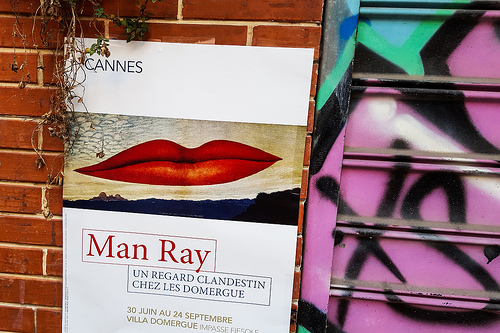 Expo Man Ray à Antibes par Jonathan Sharpe, Photographer