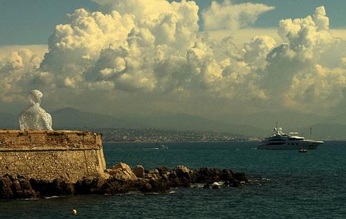 Statue d'Antibes - Le gardien du port par ribo26