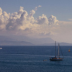 French Riviera - Blue from Antibes by ribo26 - Antibes 06600 Alpes-Maritimes Provence France