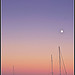 Sunset over Antibes by Beriadan - Antibes 06600 Alpes-Maritimes Provence France