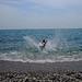Plage de galets et mer calme par Lenny Farmer - Cagnes sur Mer 06800 Alpes-Maritimes Provence France