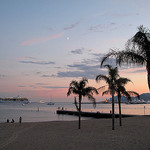 Cannes, Boulevard de la Croisette by  - Cannes 06400 Alpes-Maritimes Provence France