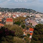 Panorama de Cannes vue du Suquet par lucbus - Cannes 06400 Alpes-Maritimes Provence France