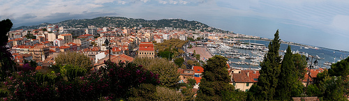 Panorama de Cannes vue du Suquet by lucbus