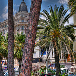 Cannes, Carlton et voiture de sport by lucbus - Cannes 06400 Alpes-Maritimes Provence France