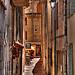 Petite rue dans le quartier du Suquet par lucbus - Cannes 06400 Alpes-Maritimes Provence France