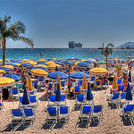 "La plage ""privée"" de Cannes by lucbus - Cannes 06400 Alpes-Maritimes Provence France"