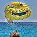 Parachute ascensionnel &quot;smiley&quot; par  - Cannes 06400 Alpes-Maritimes Provence France