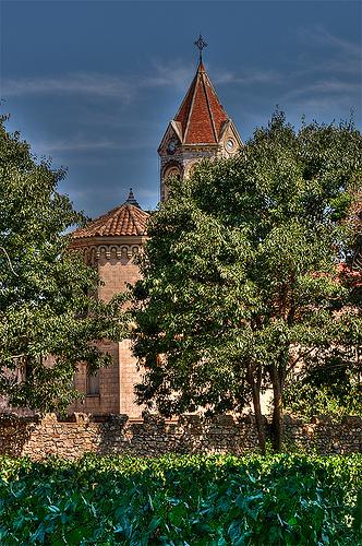 Abbaye de Lérins sur l'île St-Honorat par lucbus