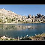 Paysage sacré au Lac d'Allos et les Grandes Tours by oliviervallouise - Entraunes 06470 Alpes-Maritimes Provence France