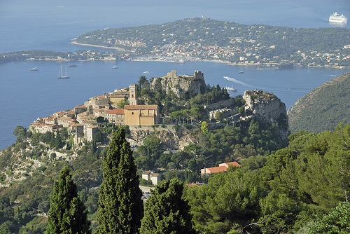 Eze, Côte d'azur by pizzichiniclaudio