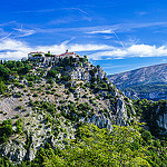 Gourdon, le village perché en haut de la colline by Bruno Gilli - Gourdon 06620 Alpes-Maritimes Provence France