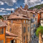 Village de Grasse par lucbus - Grasse 06130 Alpes-Maritimes Provence France