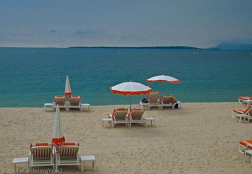Juan les Pins Beach by wanderingYew2