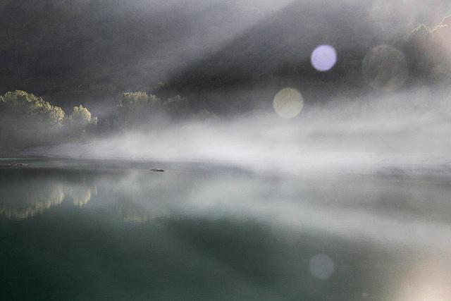 Parc du lac du Broc - Passage sans mémoire (Alpes-Maritimes - Le Broc) par Emmanuelle2Aime2Ailes