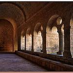 Cloître - Abbaye du Thoronet - Var by Charlottess - Le Thoronet 83340 Alpes-Maritimes Provence France