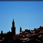 Contrastes - Menton skyline by Charlottess - Menton 06500 Alpes-Maritimes Provence France
