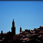 Contrastes - Menton skyline par Charlottess - Menton 06500 Alpes-Maritimes Provence France