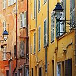 De la couleur ! Façades dans la vieille ville de Menton par jjcordier - Menton 06500 Alpes-Maritimes Provence France