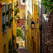 La vie en jaune à Menton by Sylvester SUPERTRAMP - Menton 06500 Alpes-Maritimes Provence France