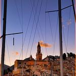 La veille ville et clocher de Menton by Charlottess - Menton 06500 Alpes-Maritimes Provence France