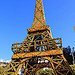 Fête du Citron à Menton : la Tour Eiffel en citrons ! par www.tourisme-menton.fr - Menton 06500 Alpes-Maritimes Provence France