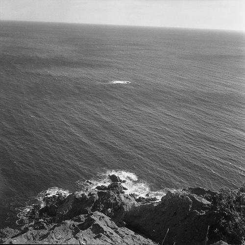 Pointe de l'Esquillon Vertige vers l'horizon par maru teru