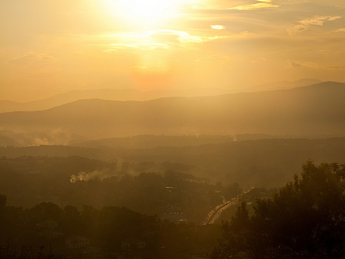 Mougins sunset par deodorel