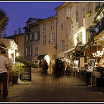 Mougins de nuit : entre resto et galleries by  - Mougins 06250 Alpes-Maritimes Provence France