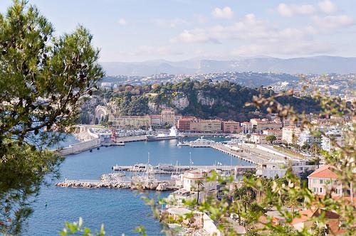 Port de Nice et arrière pays par Bomboclack
