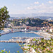 Port de Nice et arrière pays par russian_flower - Nice 06000 Alpes-Maritimes Provence France