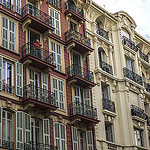 Facades d'immeubles à Nice, France by Mel Surdin Photography - Nice 06000 Alpes-Maritimes Provence France