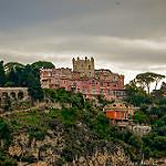 """Chateau de l'Anglais - le """"pink castle"""" à Nice by harakis picture - Nice 06000 Alpes-Maritimes Provence France"""