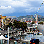 Le port de Nice et la proue du Club Med 2 by  - Nice 06000 Alpes-Maritimes Provence France