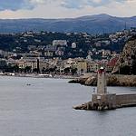 La Baie des Anges - arrivée sur Nice par  - Nice 06000 Alpes-Maritimes Provence France