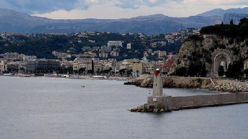 La Baie des Anges - arrivée sur Nice par bernard.bonifassi