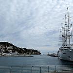 Bateau / voilier Le Club Med 2 dans le port de Nice par bernard.bonifassi - Nice 06000 Alpes-Maritimes Provence France