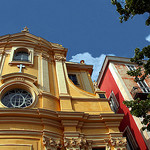Chapelle de la Miséricorde à Nice par Umberto Luparelli - Nice 06000 Alpes-Maritimes Provence France