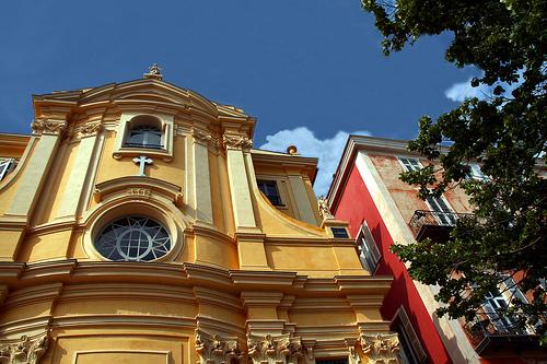 Chapelle de la Miséricorde à Nice by Umberto Luparelli