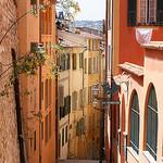 Ruelle en Couleur du Vieux Nice par spencer77 - Nice 06000 Alpes-Maritimes Provence France