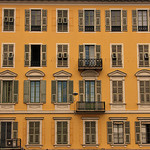 Yellow - building in Nice by  - Nice 06000 Alpes-Maritimes Provence France