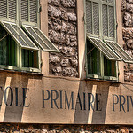 École Saint-Vincent-de-Paul by lucbus - Nice 06000 Alpes-Maritimes Provence France