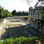 Les ruines romaines de Cemenelum à Cimiez. par bendavidu - Nice 06000 Alpes-Maritimes Provence France