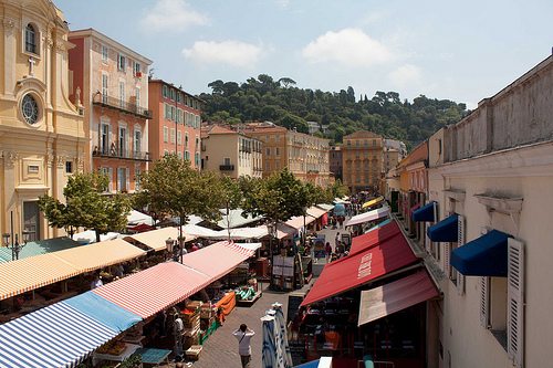Vieux-Nice - Cours Saleya par david.chataigner