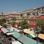 Vieux-Nice - Cours Saleya et son marché by david.chataigner - Nice 06000 Alpes-Maritimes Provence France