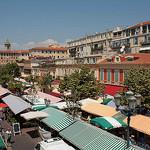 Vieux-Nice - Cours Saleya et son marché par david.chataigner - Nice 06000 Alpes-Maritimes Provence France