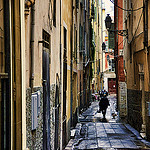 Old Town Alley, Nice, Côte d'Azur by marty_pinker - Nice 06000 Alpes-Maritimes Provence France