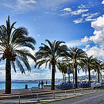 Nice Is Nice - Promenade des anglais by  - Nice 06000 Alpes-Maritimes Provence France
