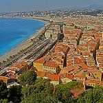 Les toits chauds de Nice face à la Côte d'Zur par  - Nice 06000 Alpes-Maritimes Provence France