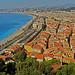 Les toits chauds de Nice face à la Côte d'Zur par russian_flower - Nice 06000 Alpes-Maritimes Provence France